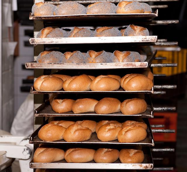 Fotografie beim Bäckermeister