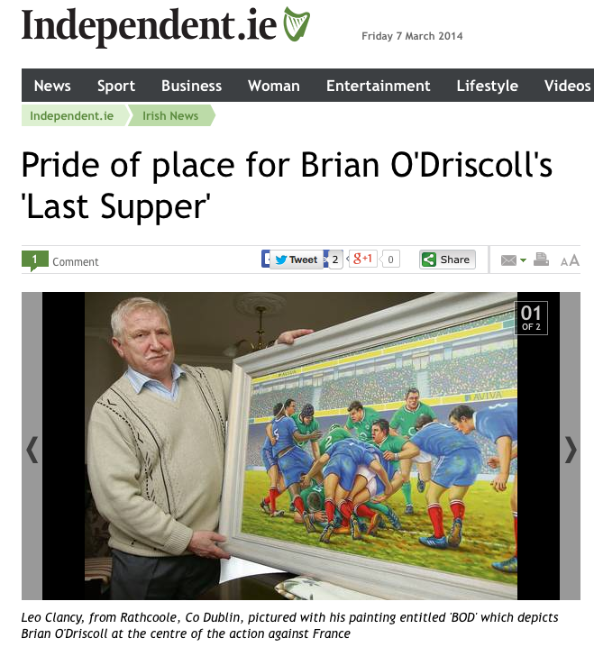 http://www.independent.ie/irish-news/pride-of-place-for-brian-odriscolls-last-supper-30071018.html