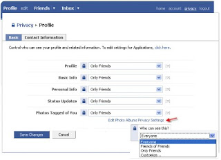 Facebook Virtual Privacy Education Tour