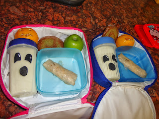 Ghost Halloween Lunch