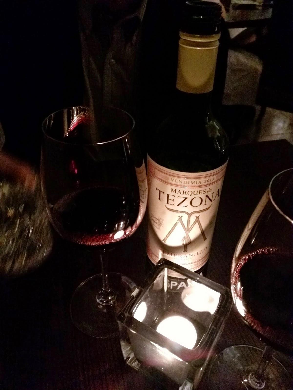 Spanish Rioja wine