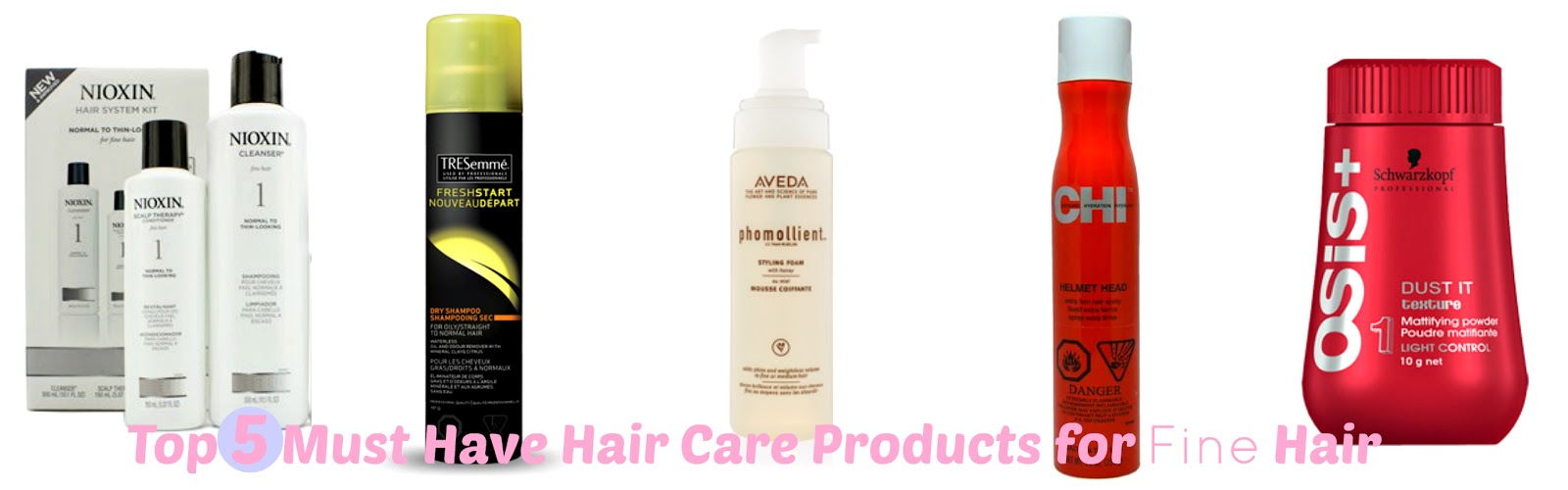 Top, 5, must have, hair care, hair, products, fine hair, aveda, noixin