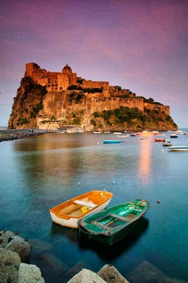 Ischia Island Italy  city pictures gallery : Castello Aragonese on Ischia Island , Italy   A1 Pictures