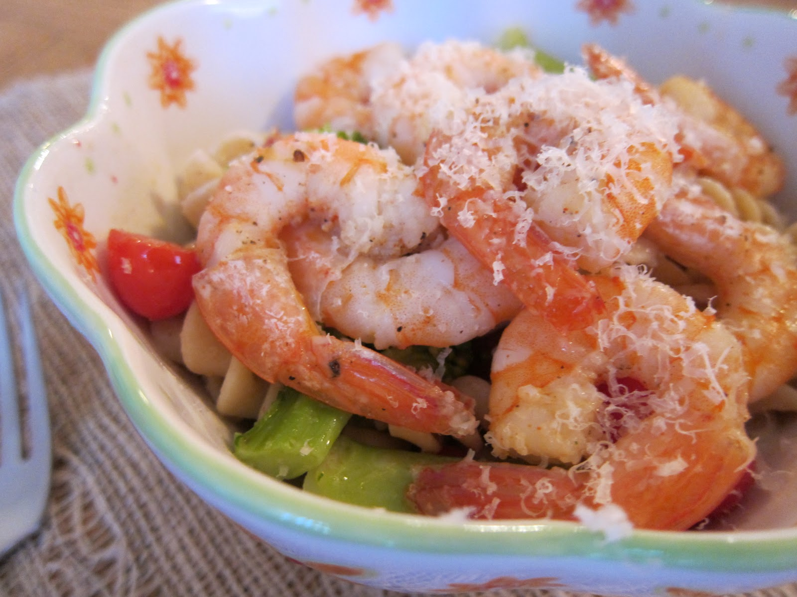 Belle 39 S Baking Shrimp Broccoli Pasta Salad