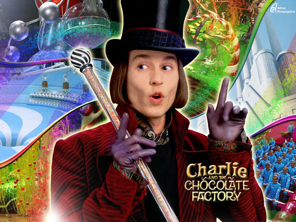 Charlie and the Chocolate FactoryCharlie And The Chocolate Factory Movie Poster