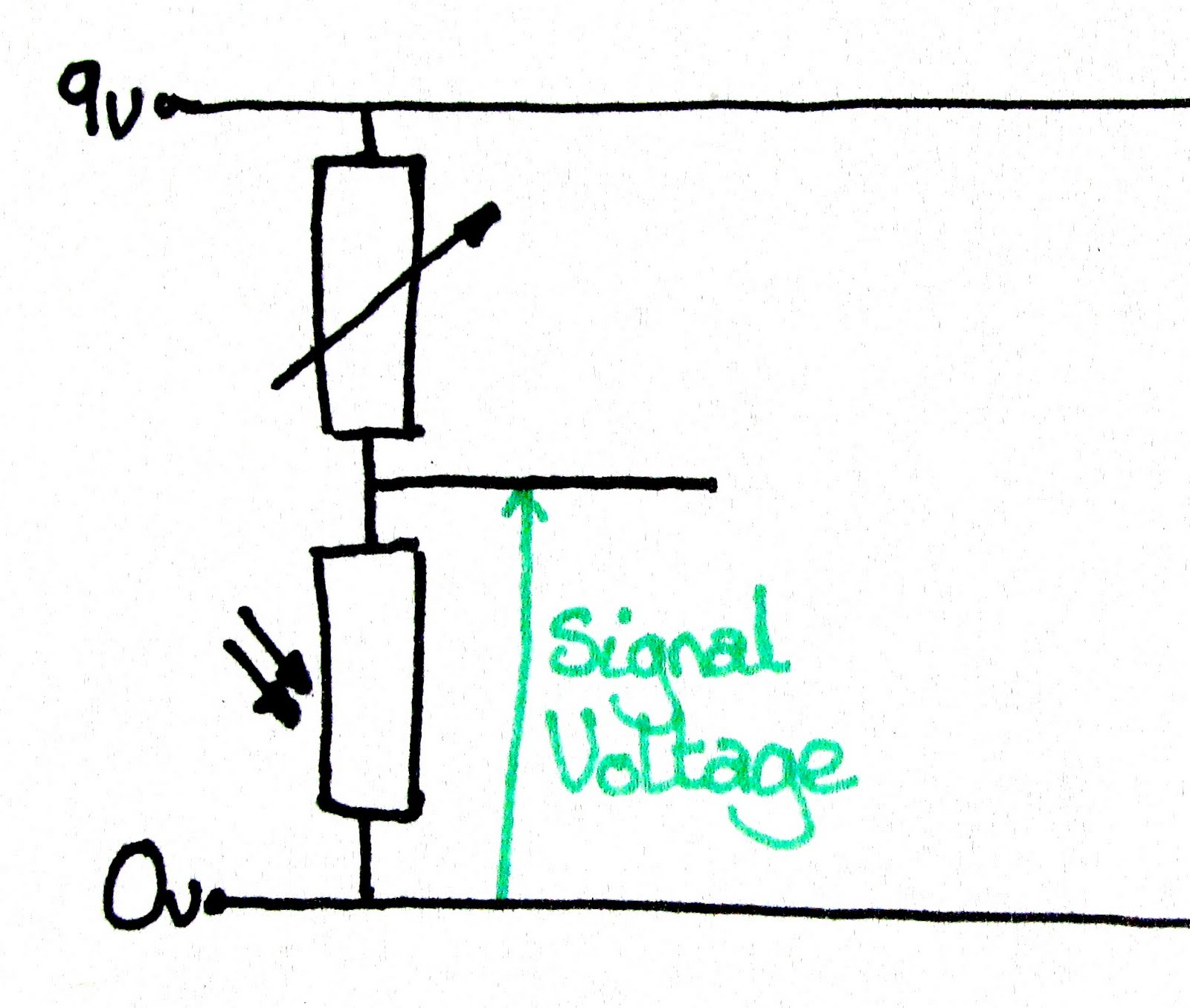 Gwc 4cr Technological Studies 2011 12 June Voltage Divider Diagram Wednesday 8