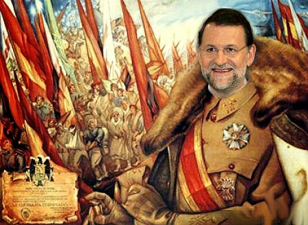 Resultat d'imatges de Franco, Fraga y Rajoy