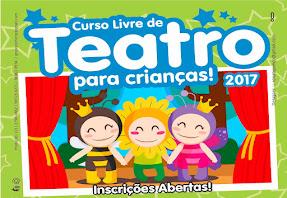 Curso Livre de Teatro para Crianças!