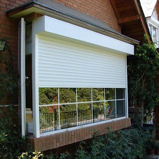 Aislar la casa con persianas