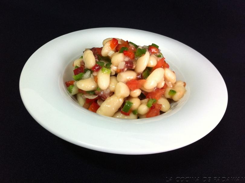 La cocina de padawan ensalada de alubias - Ensalada de alubias ...