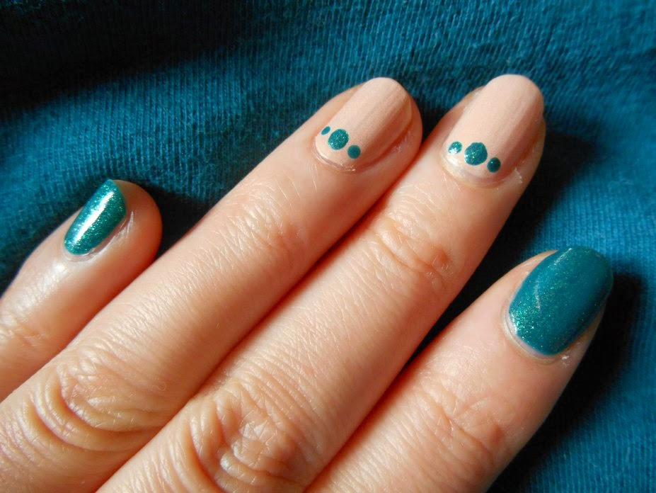 Nail art 2 couleurs simple – Great photo blog about manicure 2017