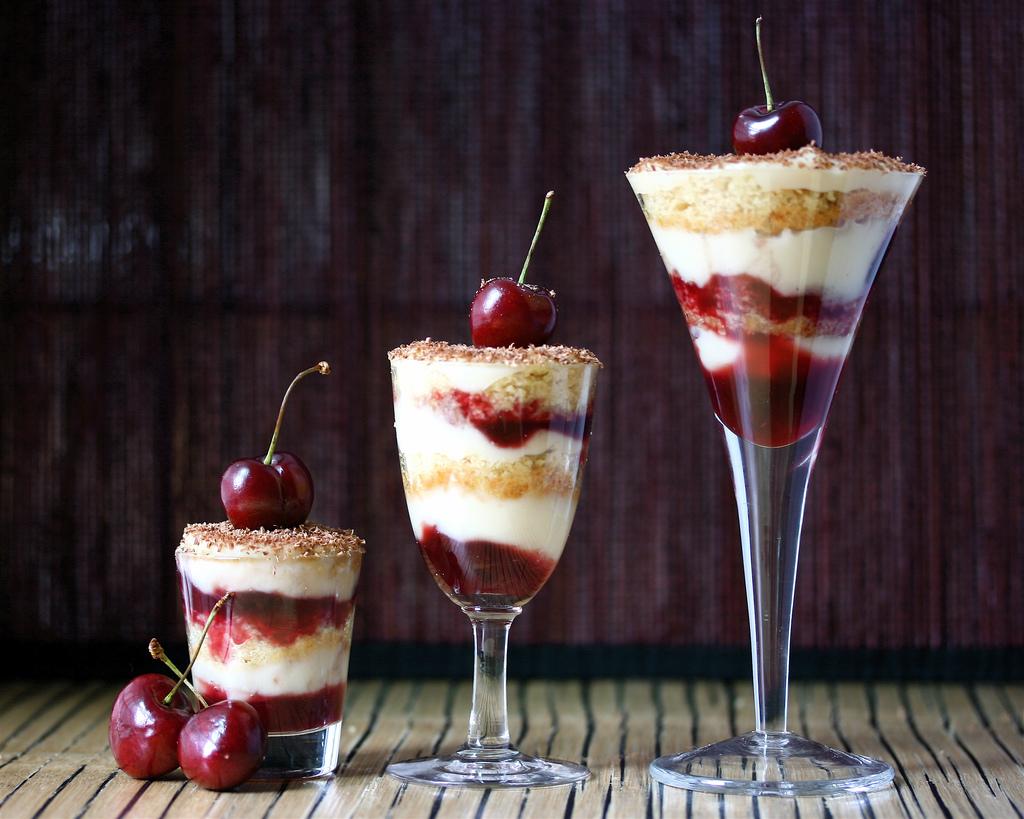 Рецепты десертов в фужерах