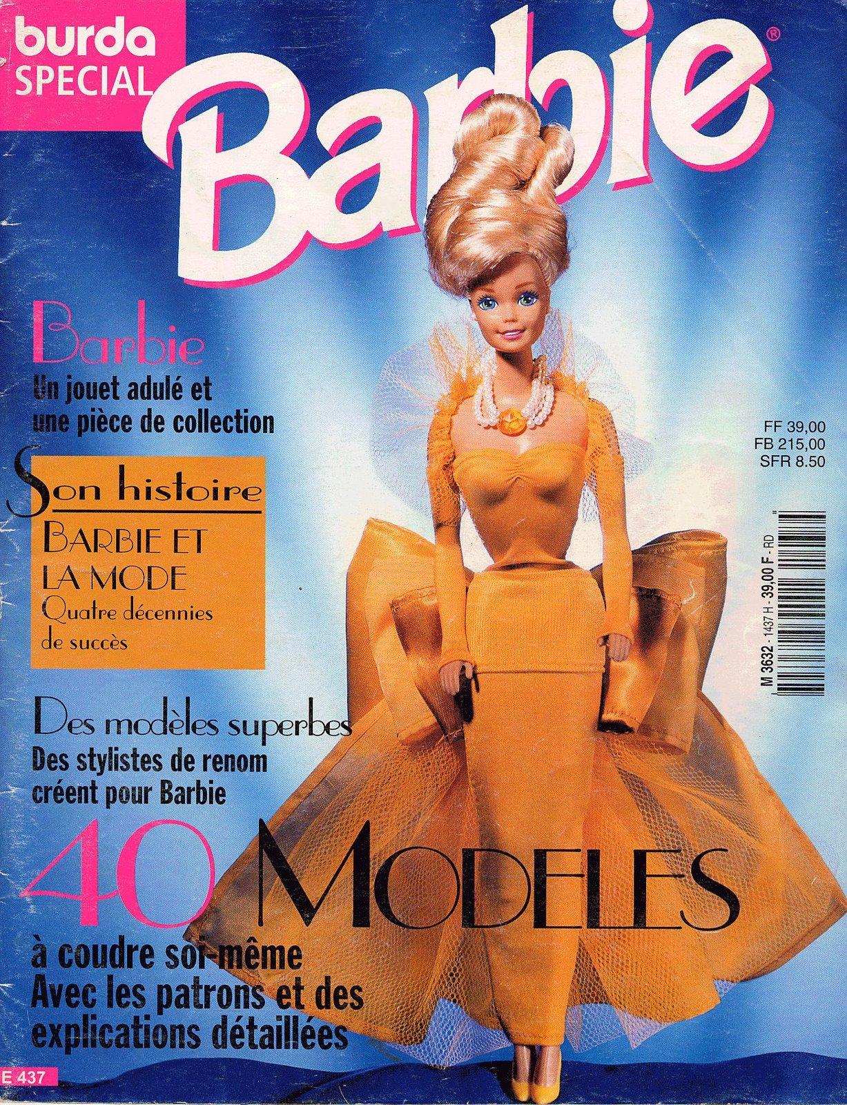 REVISTAS DE MANUALIDADES GRATIS: Burda especial Barbie
