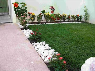 Decoração jardim pequeno