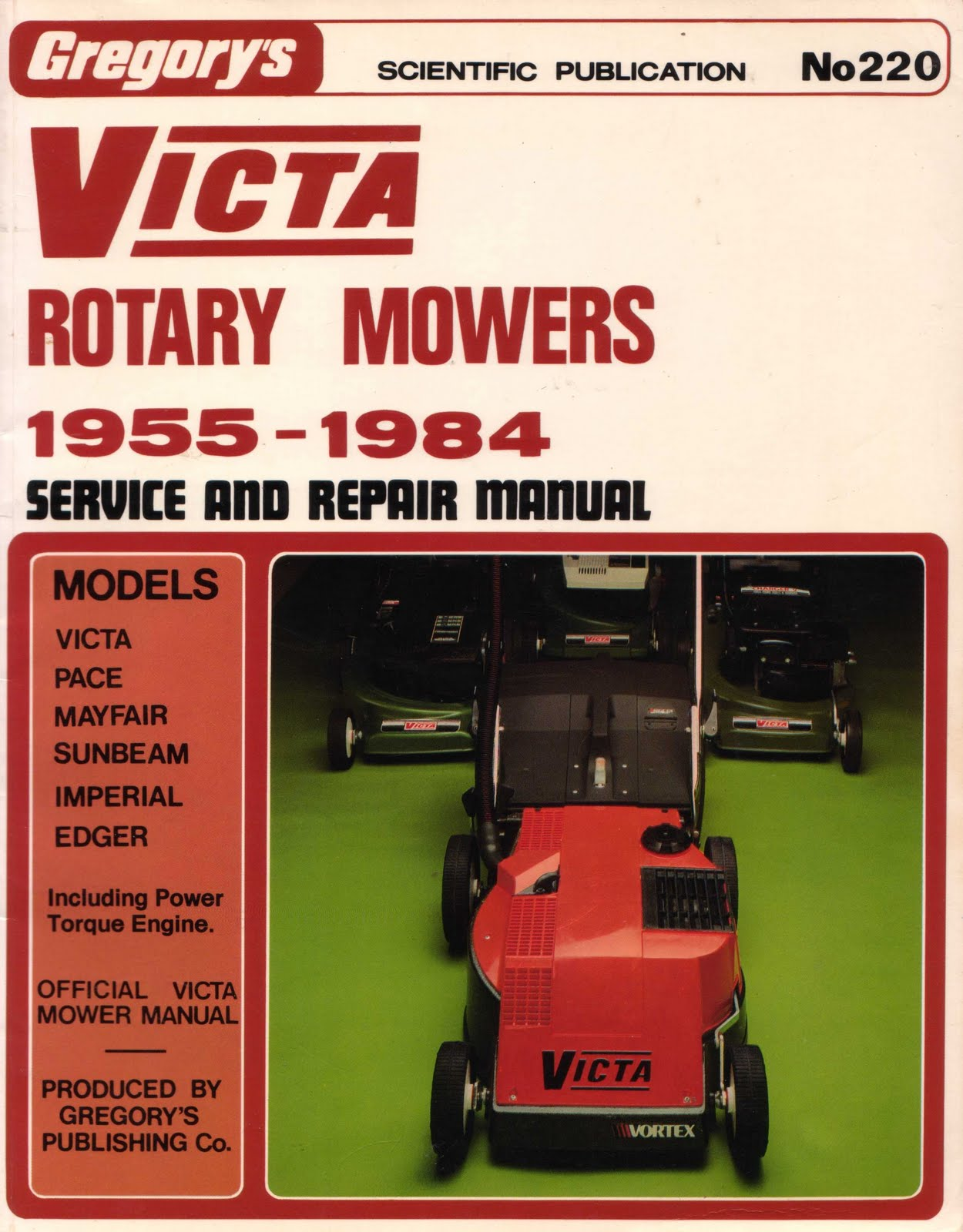 huc gabet victa rotary mowers 1955 1984 service and repair manual rh hucandgabetbooks blogspot com