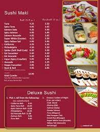 Daftar Harga Menu Sushi Tei Terbaru 2014