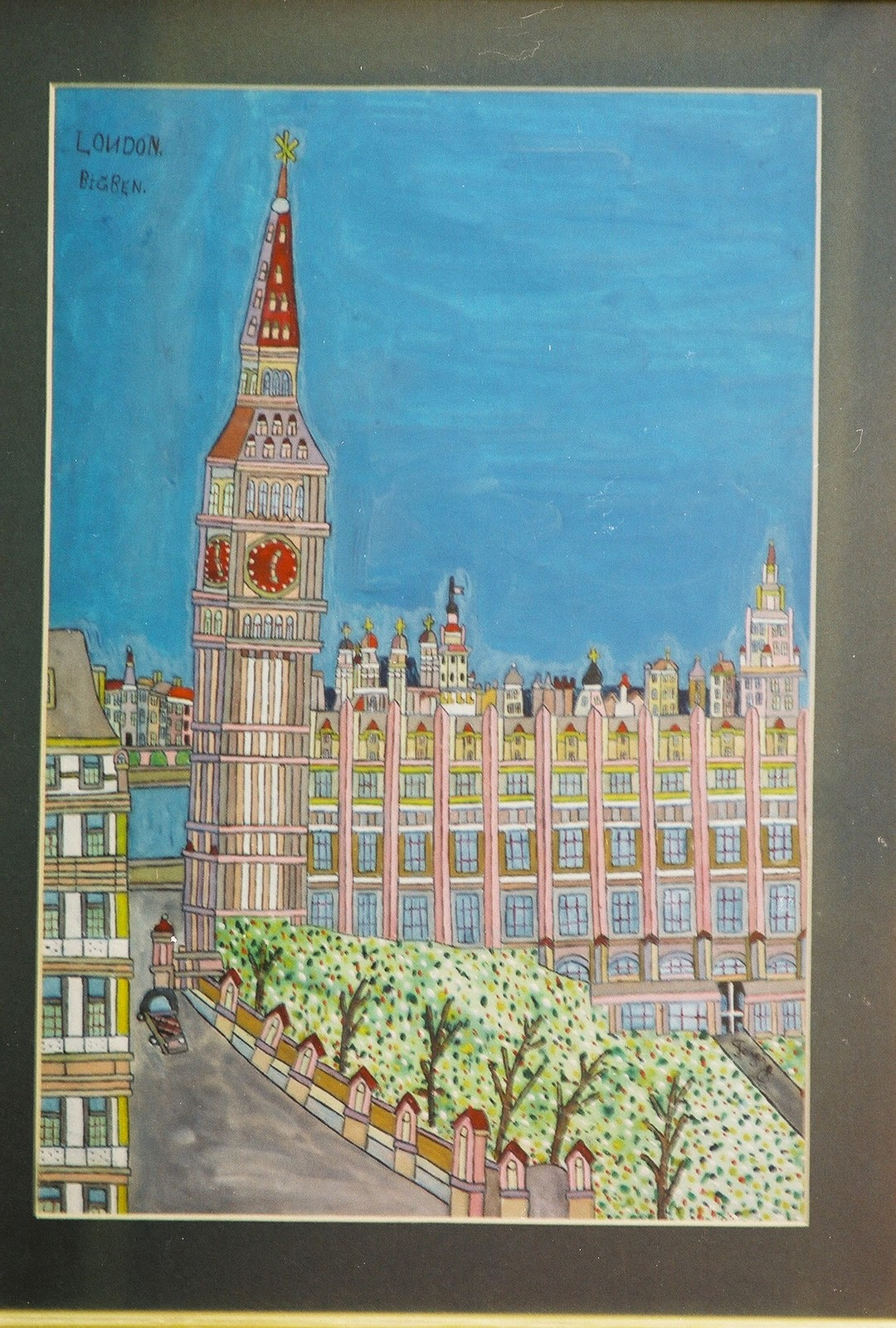 Fejes' Painting of Big Ben in London