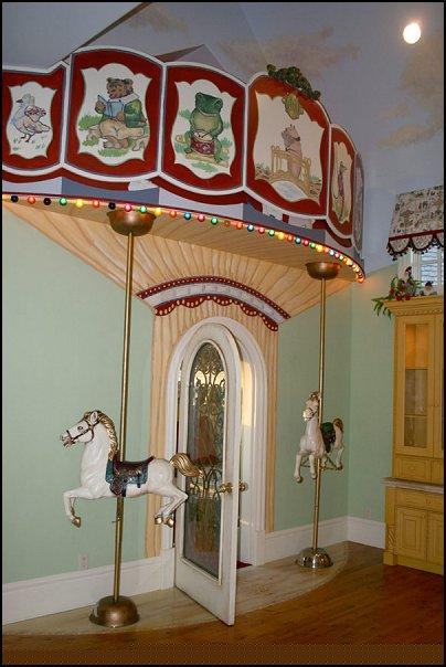 Decorating theme bedrooms - Maries Manor: carousel theme bedroom ...