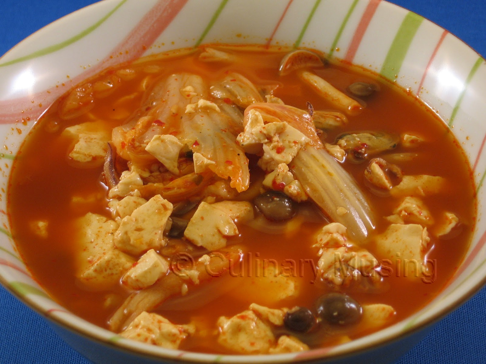 ... of a Silicon Valley Mom: Korean Soft Tofu Stew aka Soondubu Jjigae