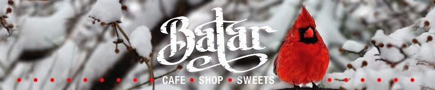 BATAR. Cafe. Shop. Sweets.