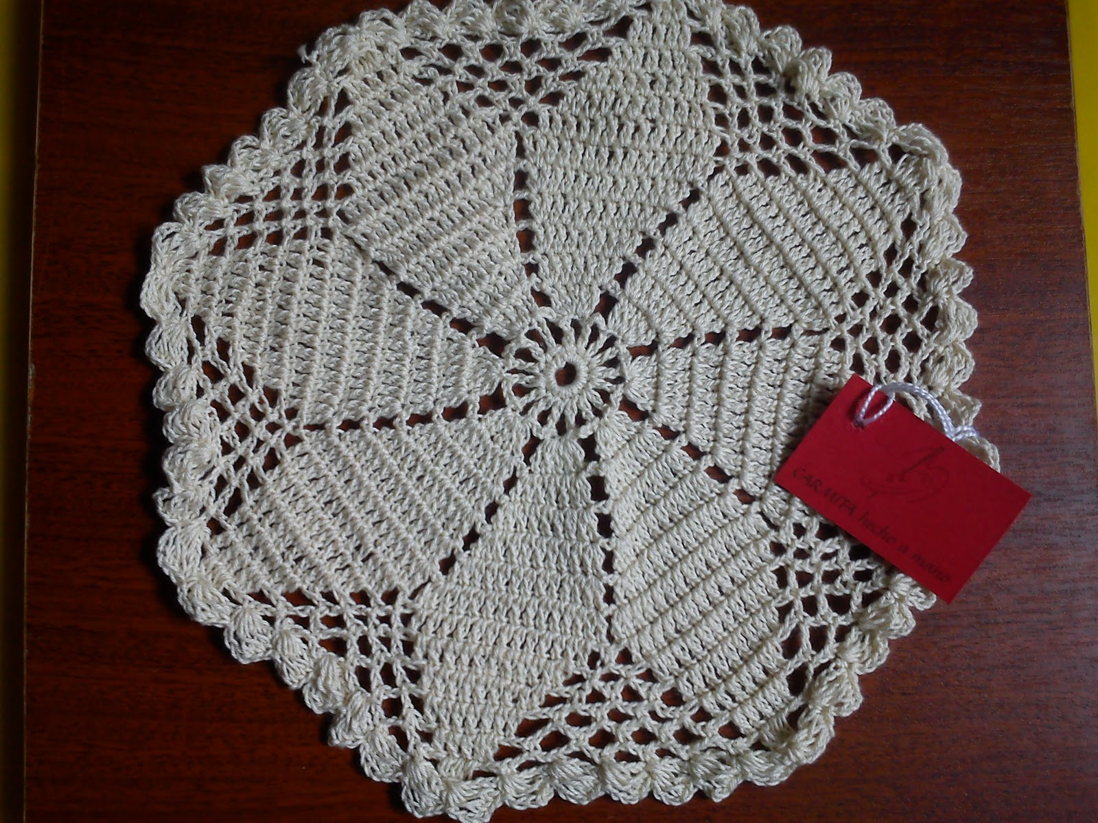 Patrones de tapetes a ganchillo imagui car interior design for Tapetes de crochet