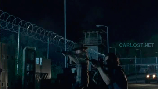 Spoilers - Carl (Chandler Riggs) y Rick (Andrew Lincoln) en The Walking Dead 4x05