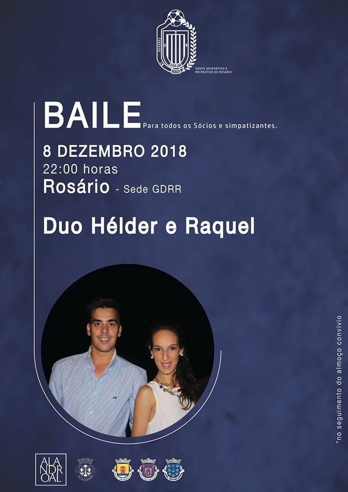 BAILE - GRUPO DESPORTIVO E RECREATIVO DO ROSÁRIO - 08 DE DEZEMBRO DE 2018.