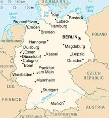 MAPA  PARA IR A BERLIN