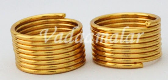 Tradtional Jewelry of India Toe Ring also called as Metti Mettlu