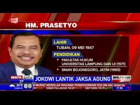 KRONOLOGIS JOKOWI PILIH JAKSA AGUNG HM PRASETYO 2014