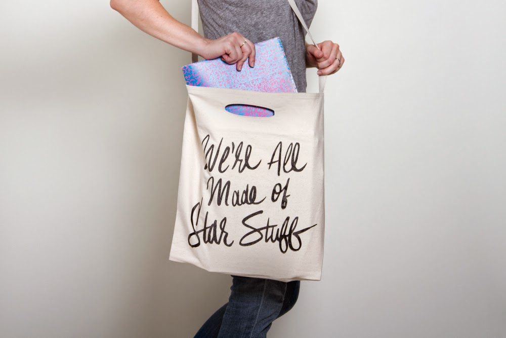 We're all made of star stuff - Carl Sagan - Jordan Dene tote bag - Hello, Handbag