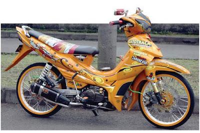 Modif Yamaha Jupiter Z Fi