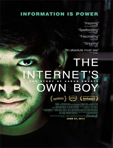 Ver The Internet's Own Boy: The Story of Aaron Swartz (2014)