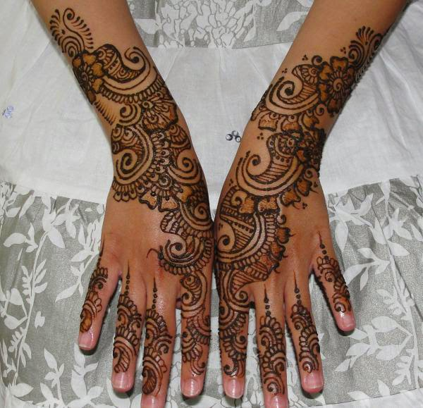 Henna Tattoo Designs For Hands