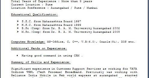 readymade resume