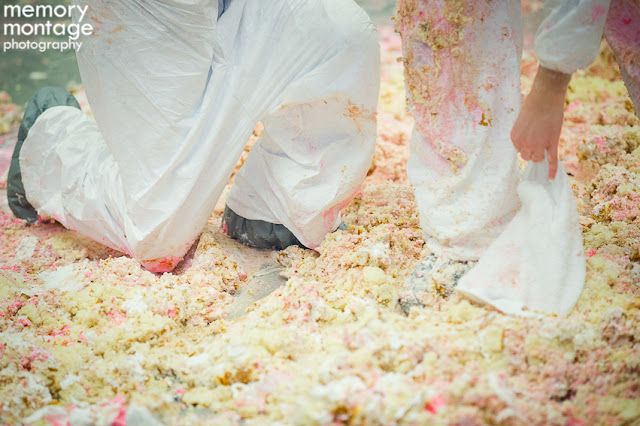 central washington bridal show cake dive