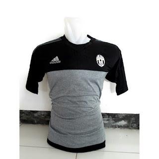 Jersey training Juventus warna hitam abu-abu terbaru musim 2015/2016 toko online gambar baju bola photo kamera juventus training
