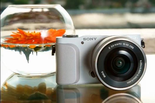 sony nex-3n camera white