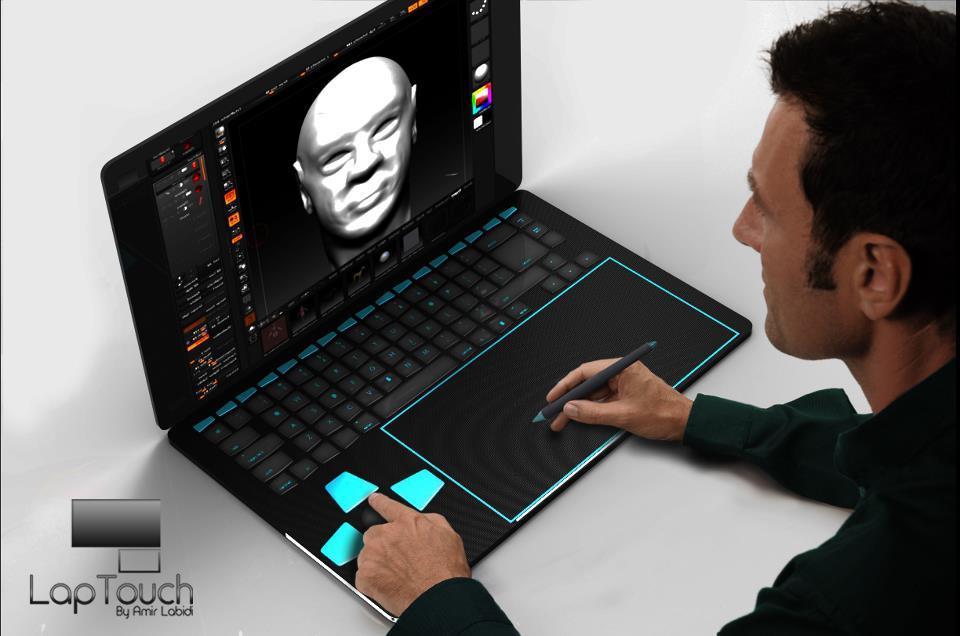 LapTouch Laptop Untuk Designer