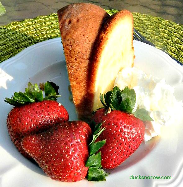 cake recipes, pound cake