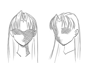 How To Draw Anime Hair Step 14