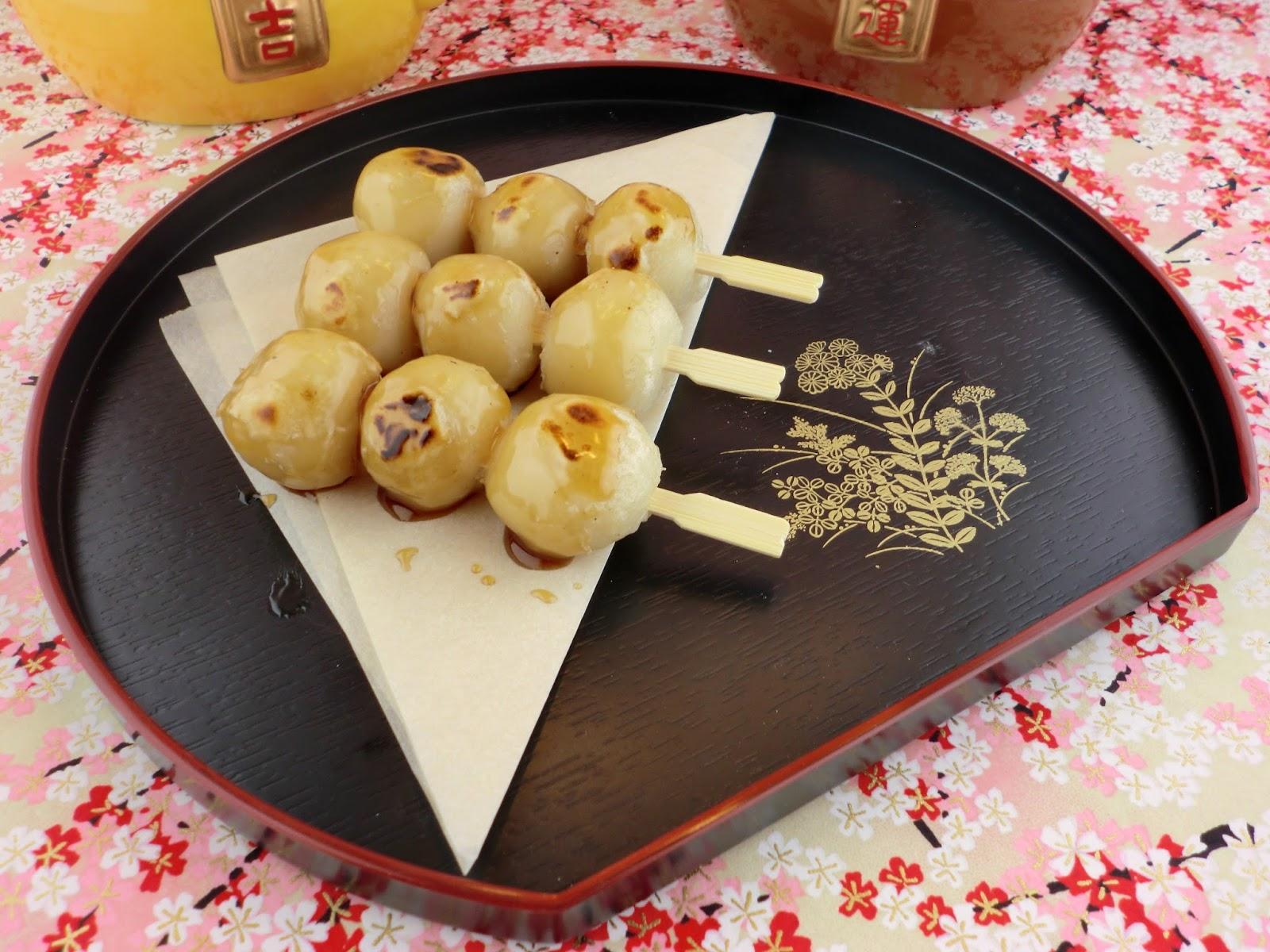 Uncasual Pâtisserie: Mitarashi Dango 御手洗団子, Grilled Mochi ...