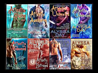 Alyssa Day Warriors of Poseidon Series 1-8 - alyssa Day