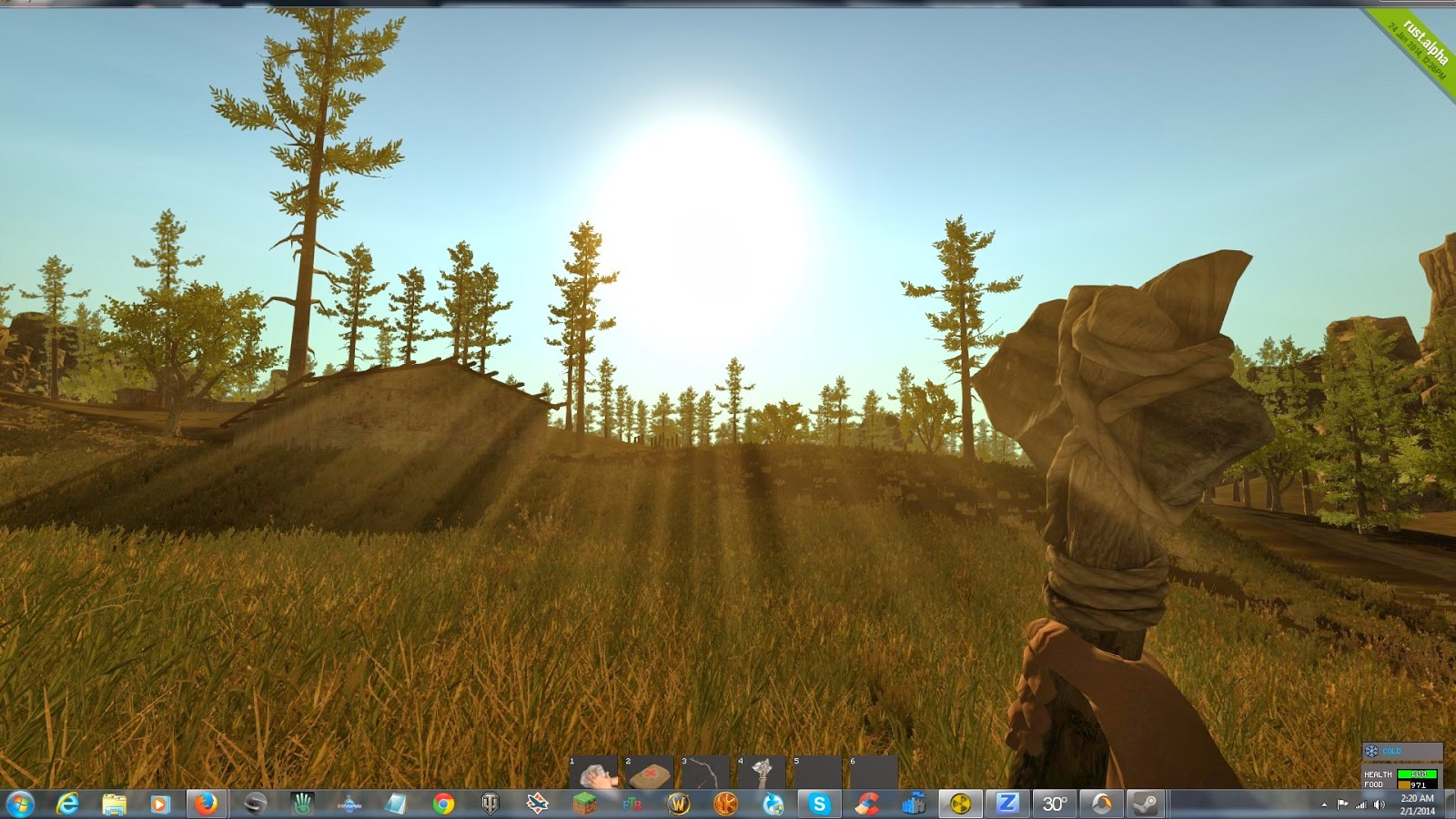 how to play rust online