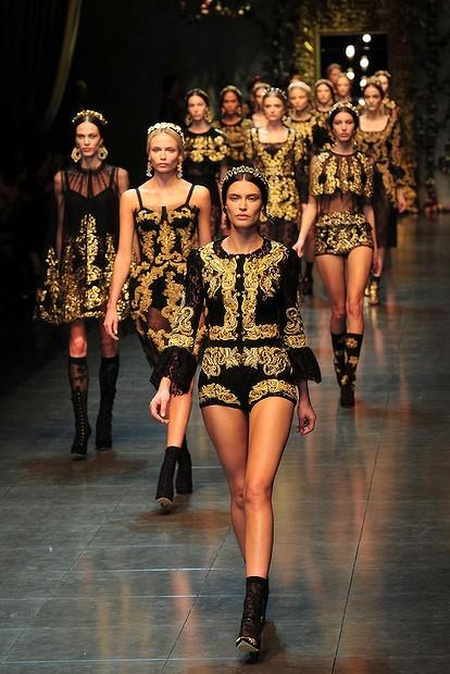 Fall/Winter 2012-2013 clothes: Brocade!