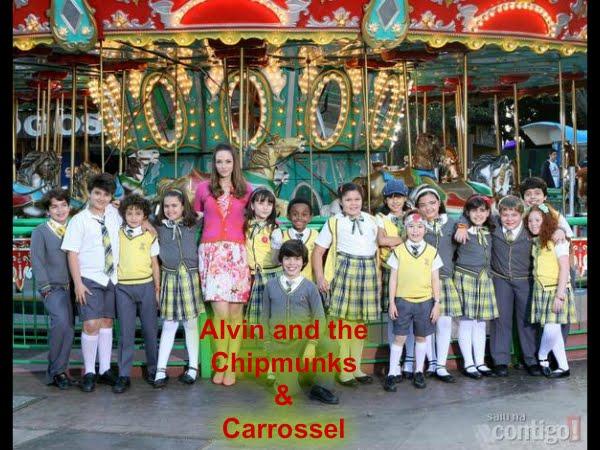 Alvin and The Chipmunks & Carrosel