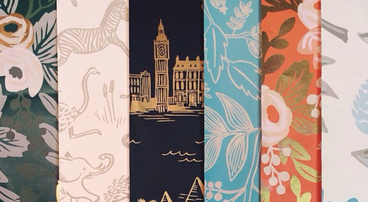 Wallpaper by local artist Anna Rifle Bond - Rifle Paper Company
