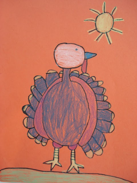 Decorate Turkey Drawing a Simple Turkey Drawing on