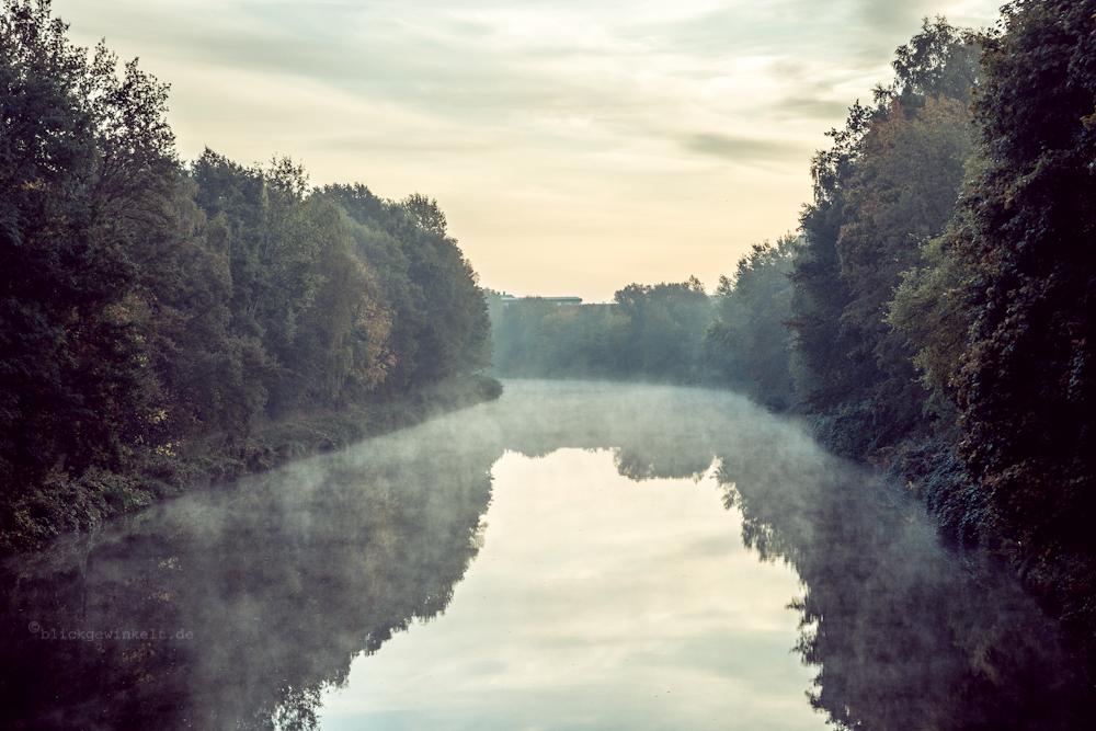 Herbst, Nebel, Wasser