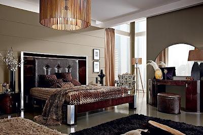 diseño dormitorio matrimonial elegante